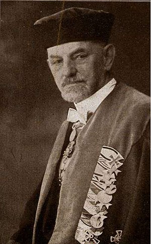Karl Arnold (chemist) - Karl Arnold, Director of the Institute of Chemistry, ca.1889