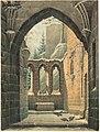 Karl Heinrich Beichling, Ruins of the Oybin Monastery in Winter, c. 1830, NGA 154064.jpg