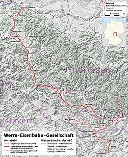 Eisenach–Lichtenfels railway