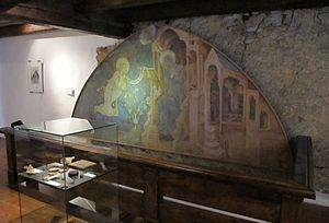 Kašperk Castle - One of the rooms in the Kasperk Castle