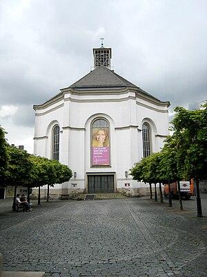 Karlskirche (Kassel) - Church after reconstruction