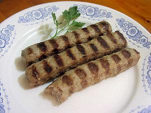 Mięso Skara - kebapczeta - kjufteta