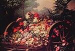 Keghel, Desire de - A cart of wild flowers - 19th century.jpg