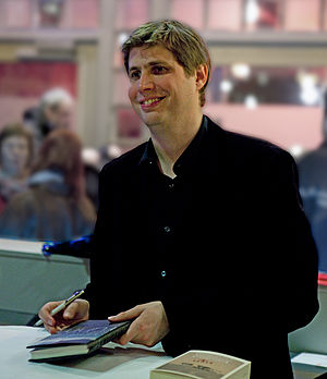 German writer Daniel Kehlmann at litcologne, 2...