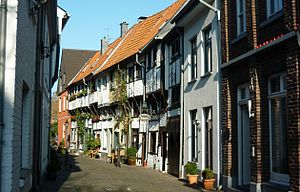 Kempen, Germany - Old School Street