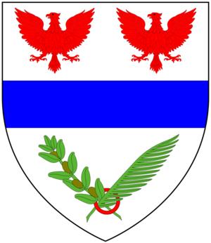 Sir John Kennaway, 3rd Baronet - Image: Kennaway Arms