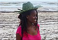 Kenya Woman with hat of palm leafs.jpg