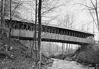 Kenyon Bridge, Spanning Mill Brook, Town House Road, Cornish City (Sullivan County, New Hampshire).jpg