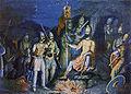 Khan Krum poluchava glavata na vizantiyskiya imperator Nikifor.jpg