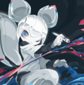 Kiki the cyber squirrel mascot of krita splash.png