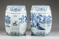 Kinesiska trädgårdspallar i porslin, 1735-1795, Qingdynastin - Hallwylska museet - 100916.tif