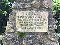 King William Rufus memorial at Beaulieu Abbey.jpg