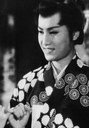 Yorozuya Kinnosuke - Kinnosuke as Kikumaru in Fuefuki Dōji