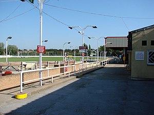 Kinsley Greyhound Stadium - Image: Kinsley Greyhound Stadium geograph.org.uk 244638