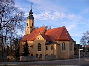 Glaubitz - Glaubitz church