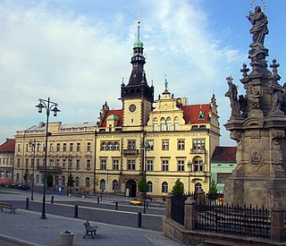 Kladno city in the Central Bohemian Region, Czech Republic