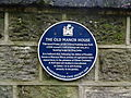 Knaresborough, plaque, the old manor house.jpg