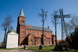 Doruchów witch trial - The Doruchów church, contemporary with the witch trial.