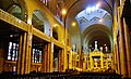 Koekelberg Basilique Nationale Sacré-Coeur Innen Langhaus Ost 1.jpg