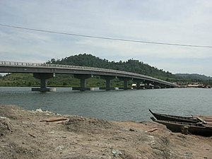 A bridge in Koh Kong