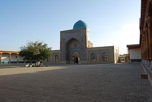 Qarshi - Kok-Gumbaz mosque in Qarshi