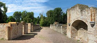 Ten Duinen Abbey - The ruins of the medieval abbey buildings in Koksijde