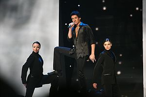 Belarus in the Eurovision Song Contest - Image: Kolduneurovision 2007