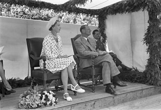 Ingrid of Sweden - King Frederick IX and Queen Ingrid in the 1950s.