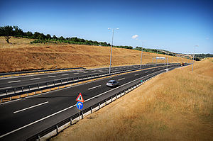 Transport in Kosovo - Portion of the R7 Motorway
