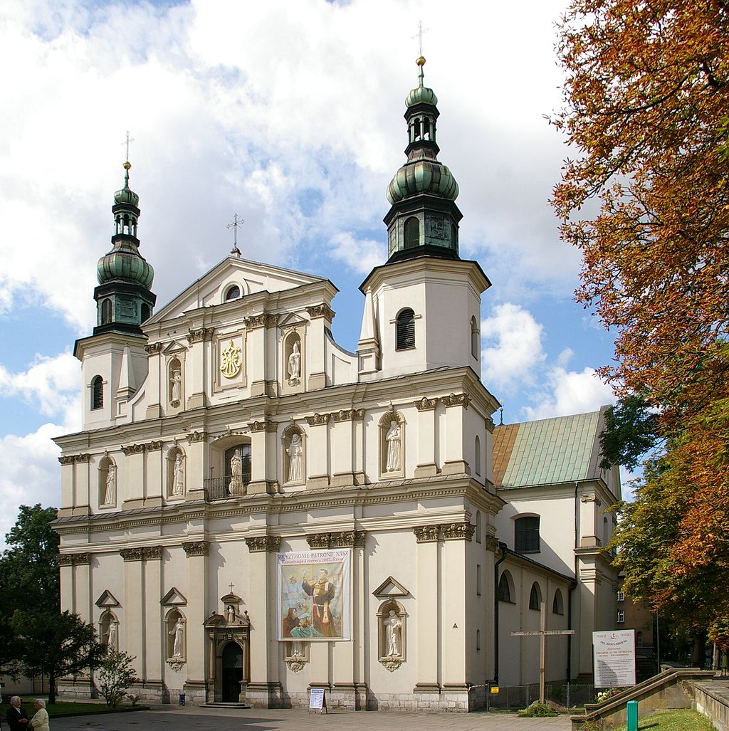 Stradom - Kościół Bernardynów