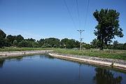 Kraszowice rzeka Bóbr w okolicy jazu.JPG
