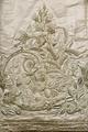 Kronprinsessan Lovisas brudklänning. Detalj av klänning - Livrustkammaren - 86109.tif