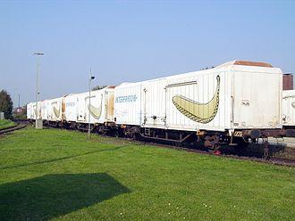 Refrigerated van - Refrigerator van for the transportation of bananas