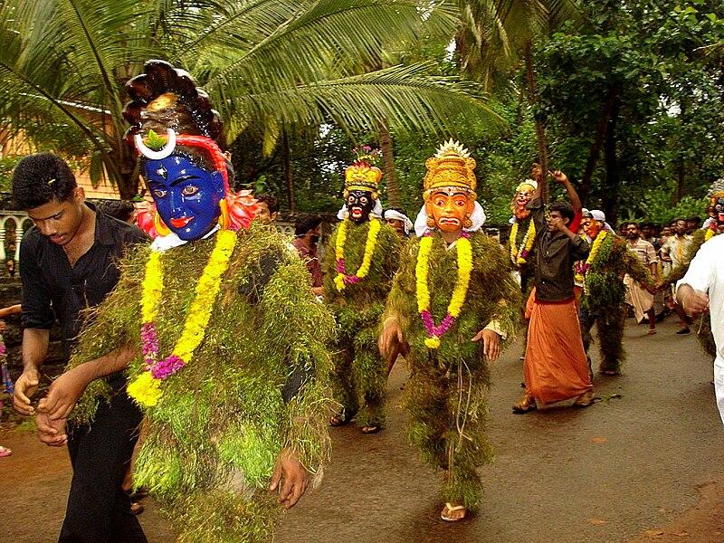 Onam, Onam greeting, Maveli, Mahabali, മാവേലി, മഹാബലി, Thiruonam, Pookalam Kummattikali