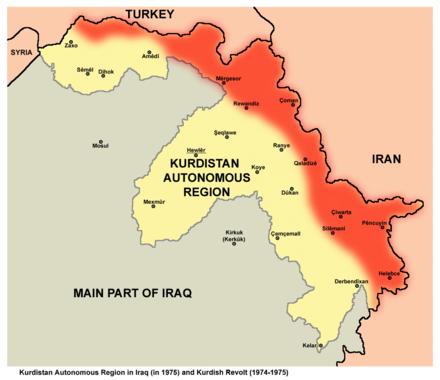 Shingal Irak Karte.Autonome Region Kurdistan Wikiwand