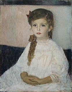 Austrian artist and children