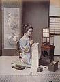 Kusakabe Kimbei - Writing Letter.jpg