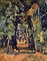 L'Allée à Chantilly, par Paul Cézanne, Yorck.jpg