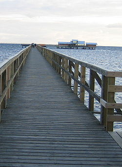 The long bridge in Bjärred