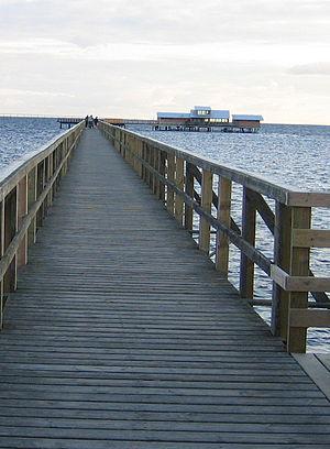 Bjärred - The long jetty in Bjärred