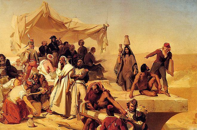 war 1798 auf ägypten expedition