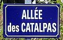L1685 - Plaque de rue - Allée des Catalpas.jpg