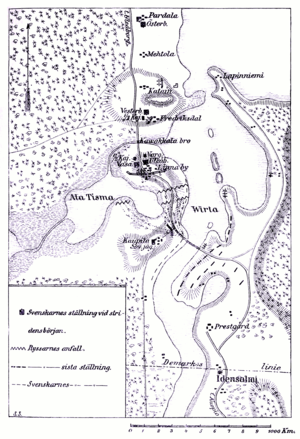 Battle of Koljonvirta - Image: LA2 stridfin map virtabro