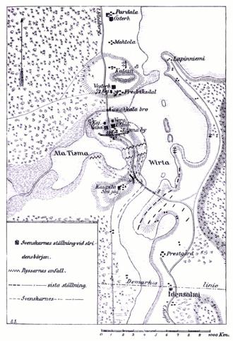 Battle of Koljonvirta - Image: LA2 stridfin map virtabro