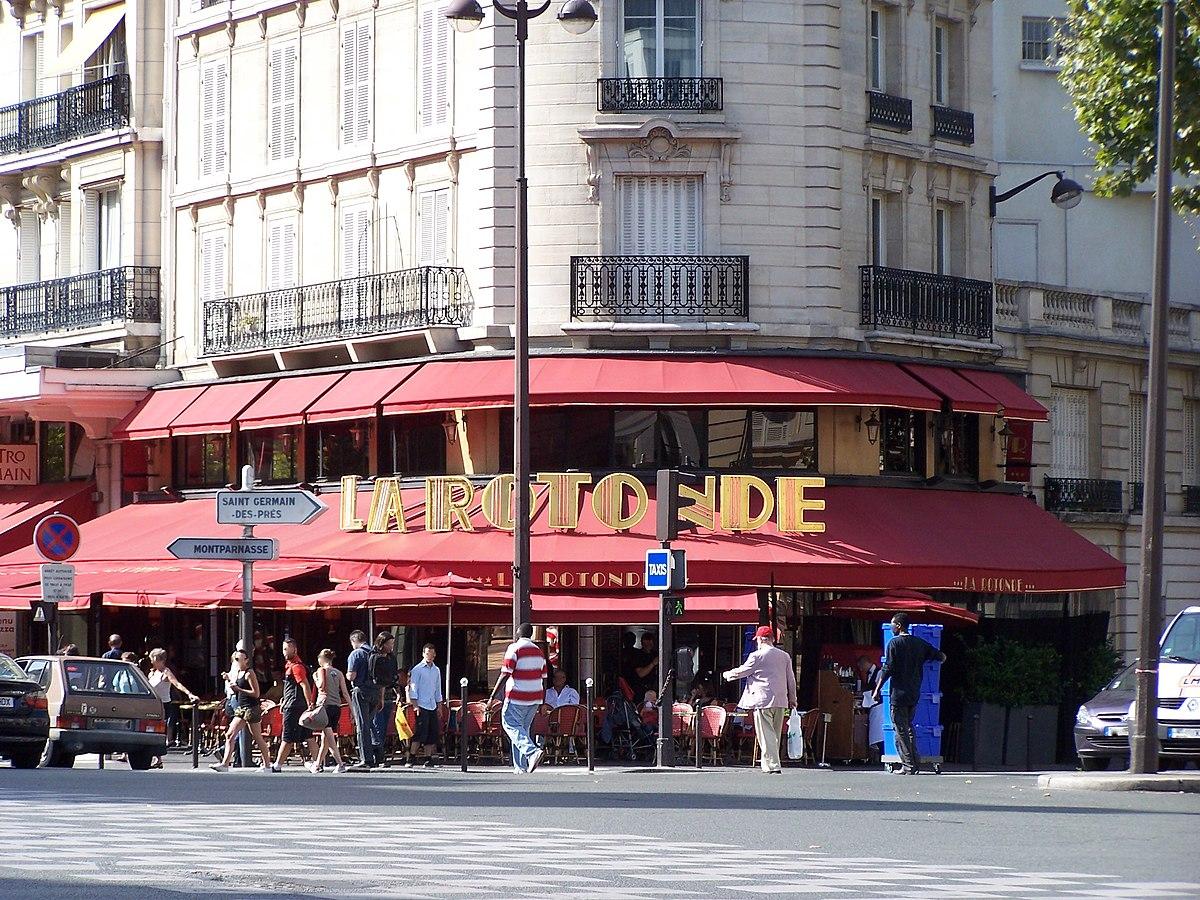 La Rotonde Caf Ef Bf Bd Metro Jaur Ef Bf Bds Paris