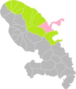La Trinité (Martinique) dans son Arrondissement