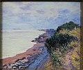 La falaise de Penarth, le soir, temps orageux, 1897.jpg