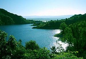 Sierras de Córdoba - Lake Los Molinos in the Paravachasca valley.
