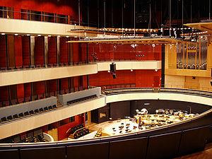 Sibelius Hall - Sibelius Hall interior