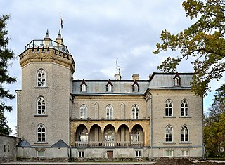 Laitse Village in Harju County, Estonia